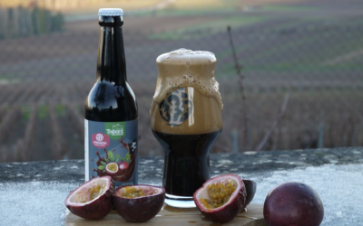 Stout aux fruits de la passion en collaboration la brasserie thibord